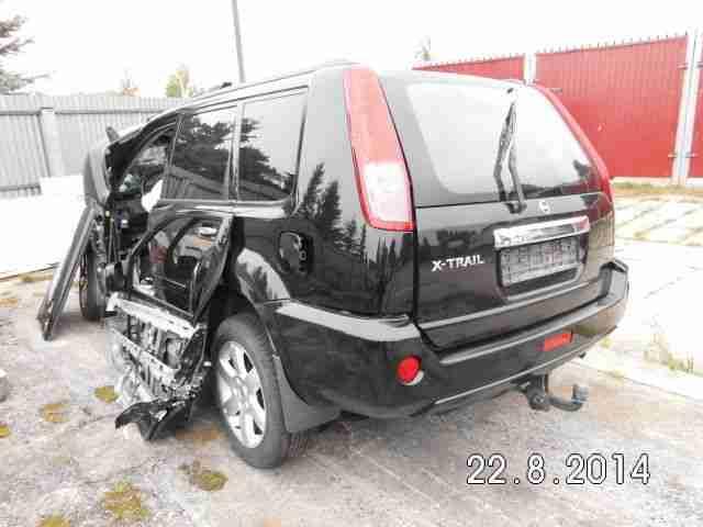 nissan x trail 4x4 unfallwagen tolle angebote in nissan. Black Bedroom Furniture Sets. Home Design Ideas