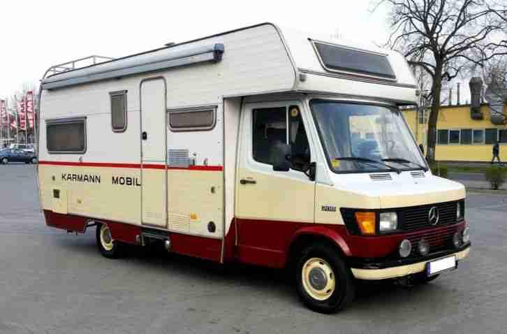 nostalgisches oldtimer wohnmobil mercedes benz wohnwagen wohnmobile. Black Bedroom Furniture Sets. Home Design Ideas