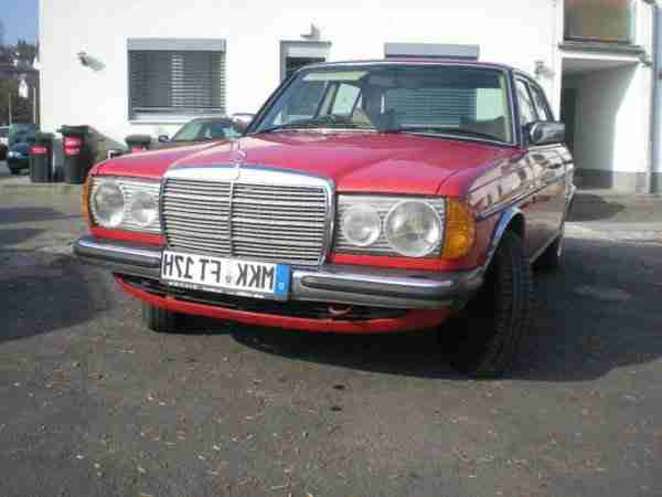 MERCEDES 300D TYP 123 BJ 1977