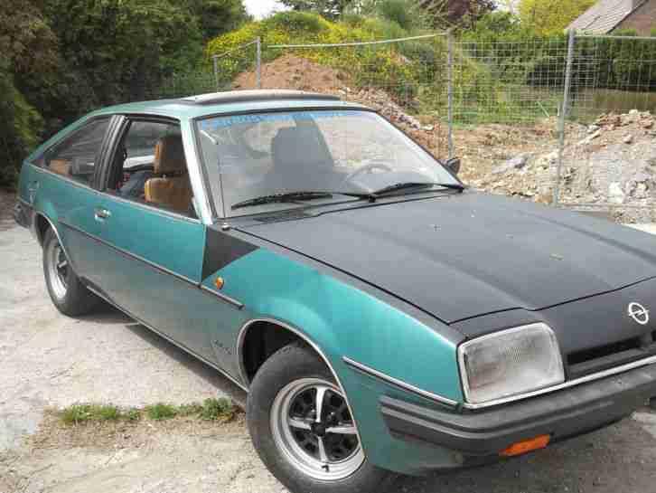Opel manta berlinetta 2 0 coup yahr 1979 gut topseller oldtimer car group - Opel manta berlinetta coupe ...