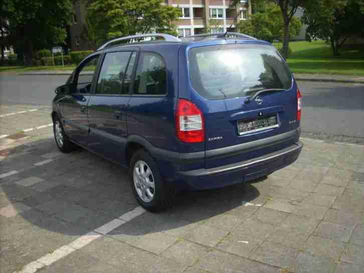 opel zafira ez2005 1 6 7 sitze benzin gas neue positionen volkswagen pkw. Black Bedroom Furniture Sets. Home Design Ideas