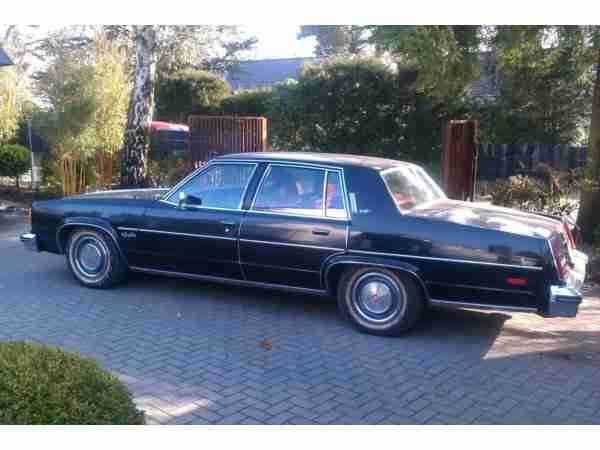 Oldsmobile Regency 98 Ninety Eight Limosine mit 84800