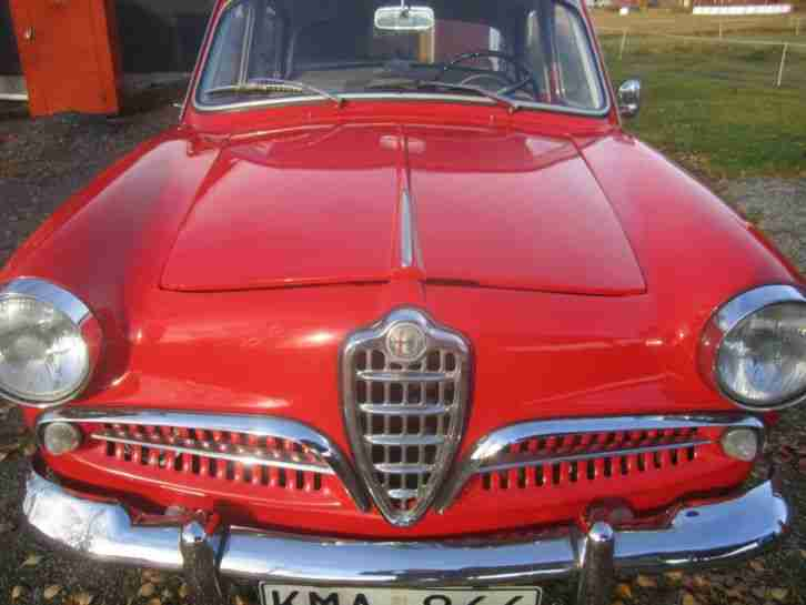 Oldtimer Giulietta Ti 1958 Beautiful