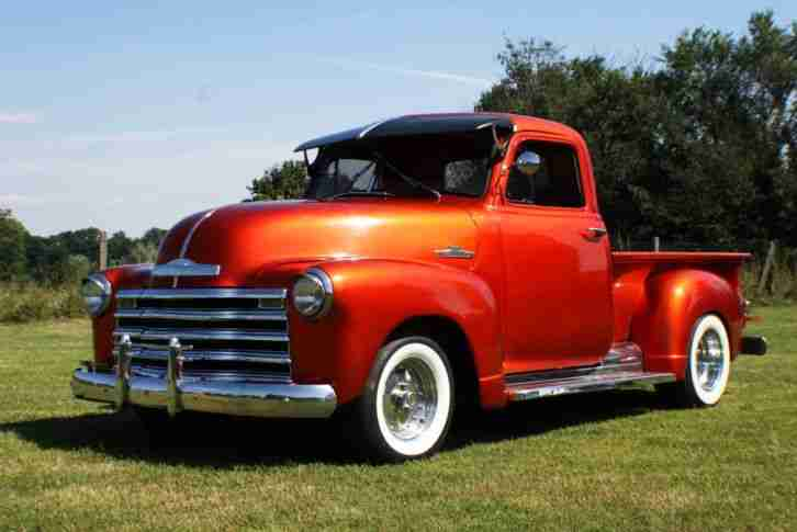 oldtimer chevrolet pick up 1951 die besten angebote. Black Bedroom Furniture Sets. Home Design Ideas