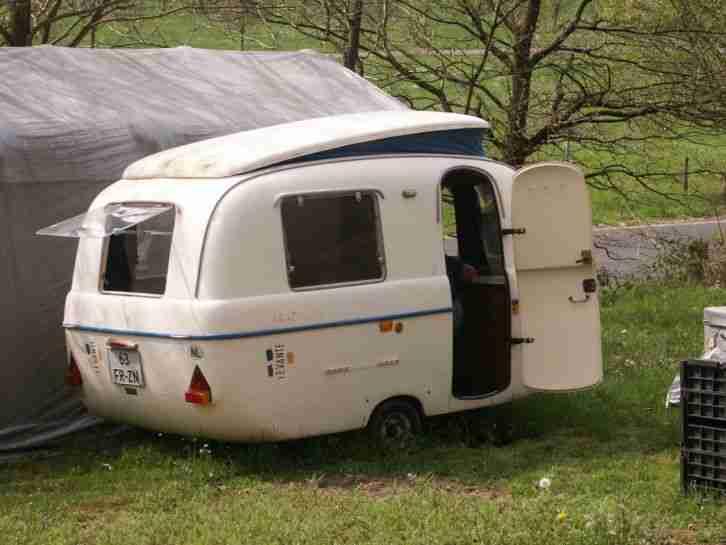 oldtimer wohnwagen levante graziella 300 ente wohnwagen wohnmobile. Black Bedroom Furniture Sets. Home Design Ideas