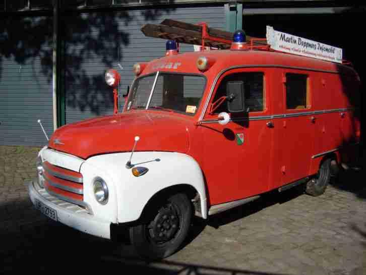 opel blitz feuerwehrauto topseller oldtimer car group. Black Bedroom Furniture Sets. Home Design Ideas