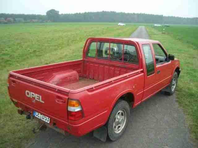opel campo 3 1 td 4x4 pick up diesel t v die. Black Bedroom Furniture Sets. Home Design Ideas
