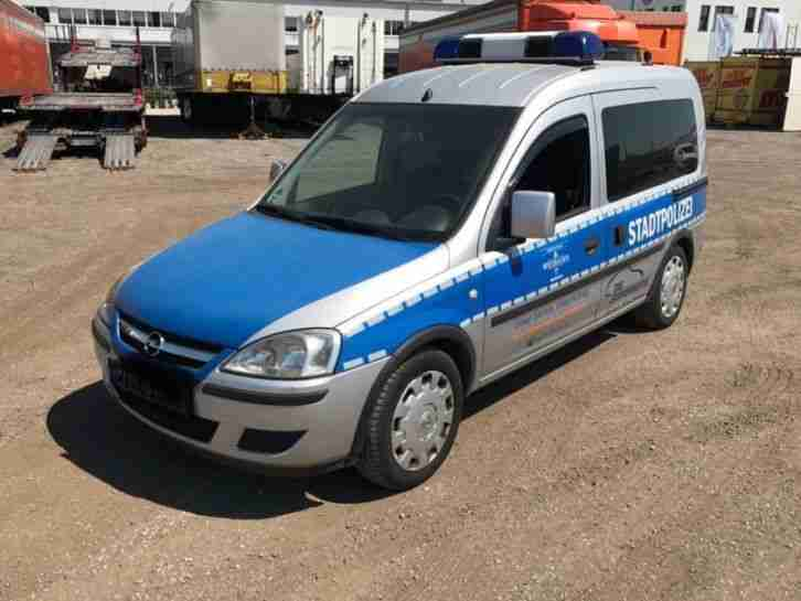 Opel Combo 1.6 CNG orig. Polizeiauto