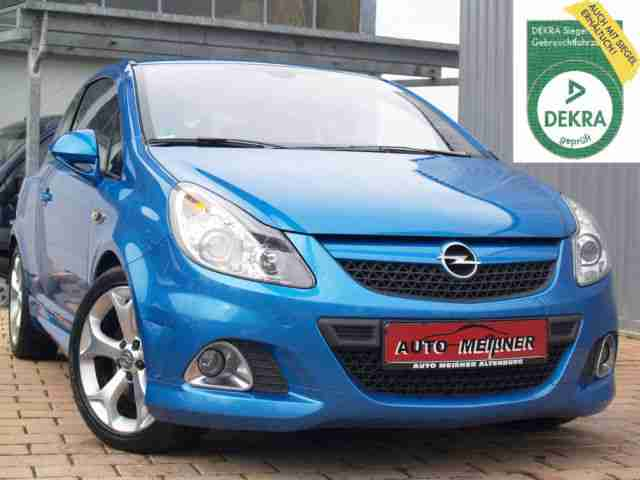 Corsa 1.6 Turbo OPC 1.Hd. Navi Leder TOP