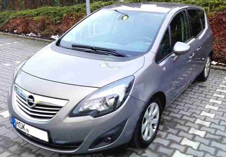 Meriva, Baujahr 2012, 1.7CDTI, 131 PS, Innovation,