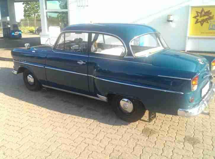 opel olympia rekord modell 1957 topseller oldtimer car. Black Bedroom Furniture Sets. Home Design Ideas