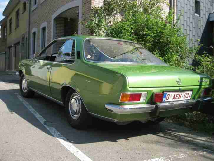 Opel Record D 1900 Coupé , 1975