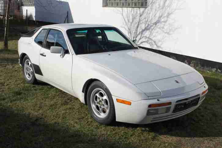 944 951 TURBO TARGA 2, 5 1986 DEUTSCHER BRIEF