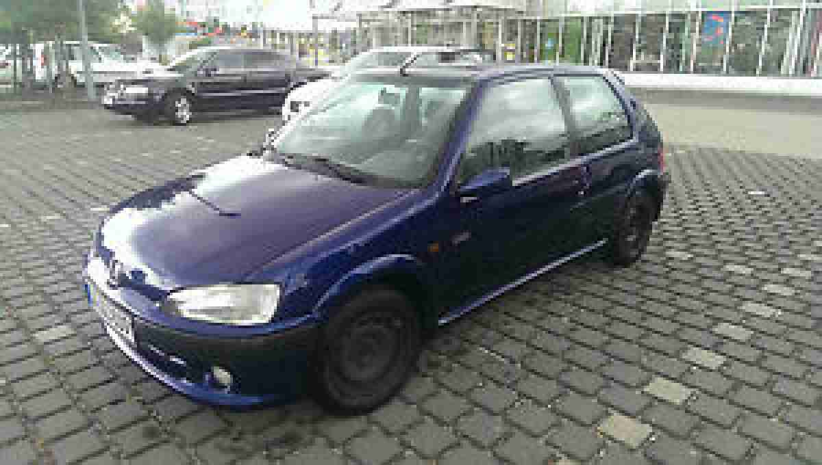 peugeot 106 1 4i 55 kw sport metallik blau tolle angebote in peugeot. Black Bedroom Furniture Sets. Home Design Ideas