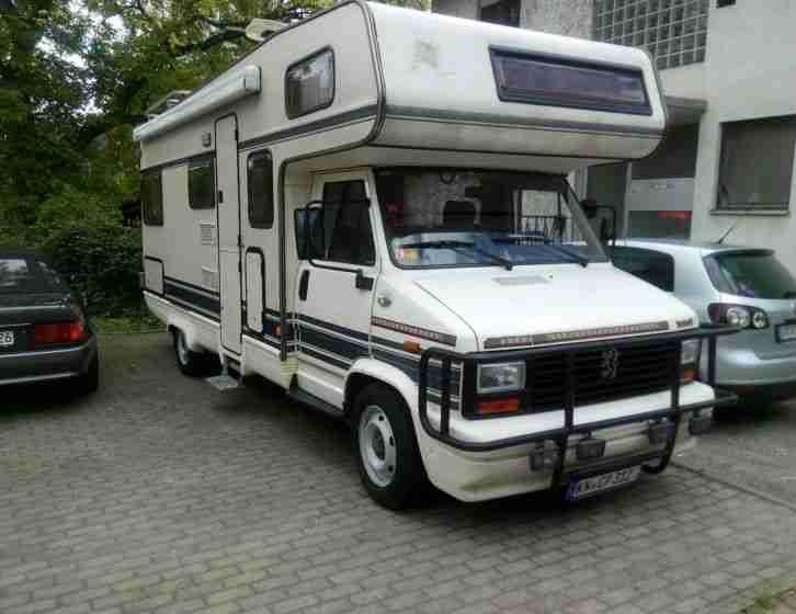 peugeot 2 5 td b rstner wohnmobil gepflegter wohnwagen. Black Bedroom Furniture Sets. Home Design Ideas