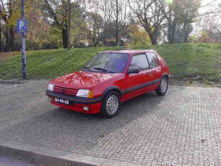 205 GTI 1600 Bj 1984. Will ship to Europe