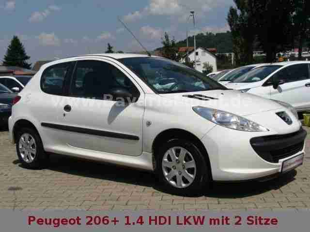 peugeot 206 1 4 hdi 70 lkw mit 2 sitze klima tolle angebote in peugeot. Black Bedroom Furniture Sets. Home Design Ideas