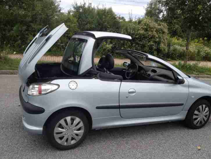 peugeot 206 cc cabrio tolle angebote in peugeot. Black Bedroom Furniture Sets. Home Design Ideas