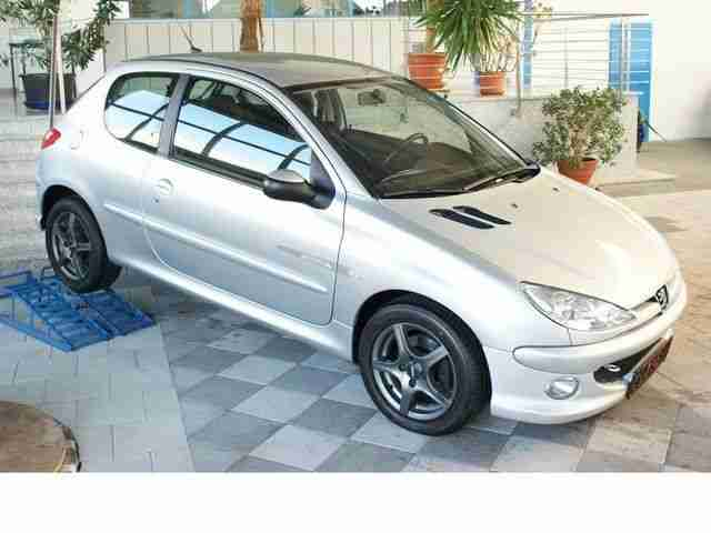 Peugeot 206 Quicksilver Klima ALU CD ''Top