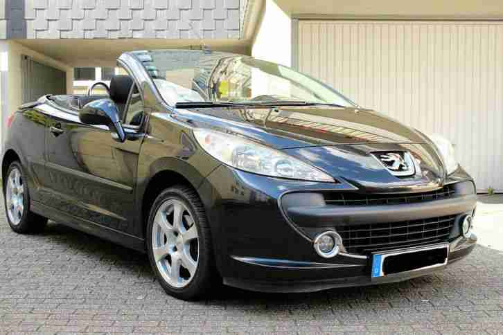 peugeot 207 cc 120 vti cabrio aus 2 hand bj tolle angebote in peugeot. Black Bedroom Furniture Sets. Home Design Ideas