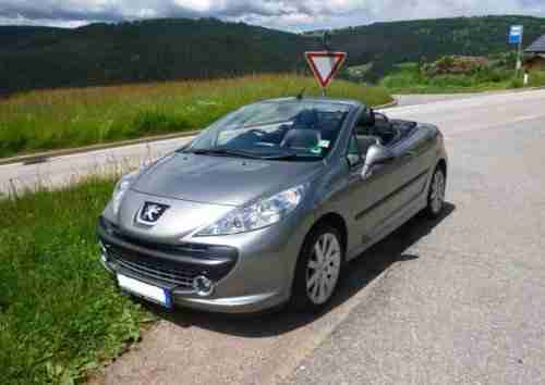 207 CC Platinum (Blue Lion) Diesel Cabrio TOP