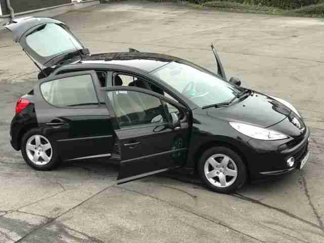 Peugeot 207 Edition Sondermodell 75 Klima 1a Mo