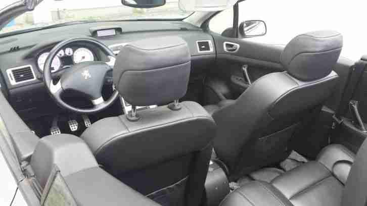 peugeot 307 cc cabrio leder tolle angebote in peugeot. Black Bedroom Furniture Sets. Home Design Ideas