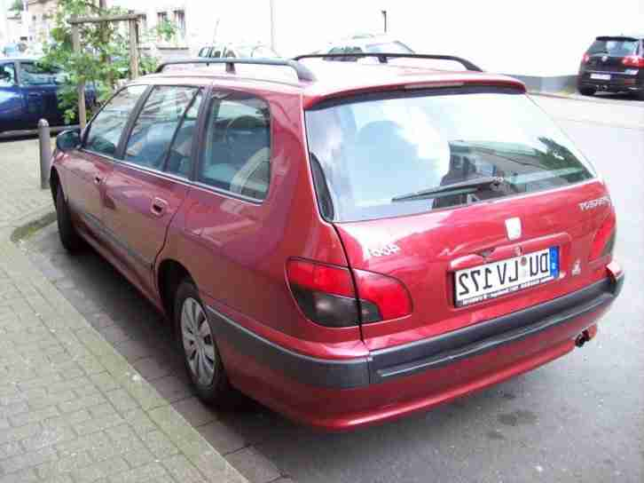 Peugeot 406 Kombi - Break 1,8 Ltr. 110 Ps Benzinmotor, Hu-Au 2-2016