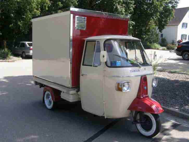 piaggio ape topseller oldtimer car group. Black Bedroom Furniture Sets. Home Design Ideas