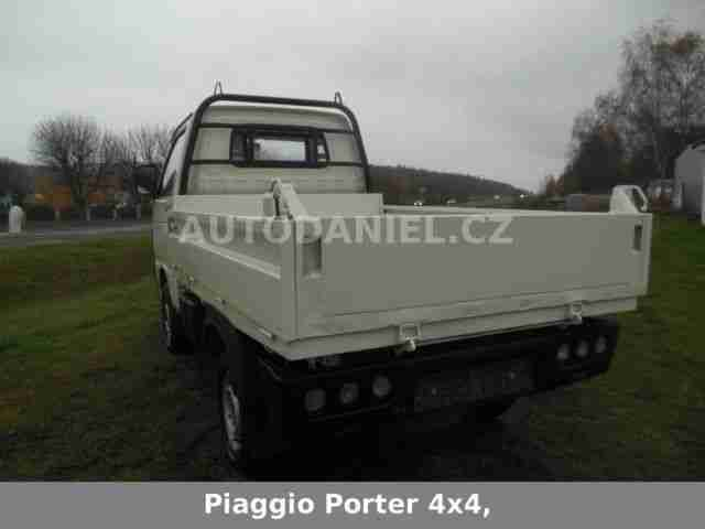 piaggio porter 4x4 kipper neues model nutzfahrzeuge. Black Bedroom Furniture Sets. Home Design Ideas
