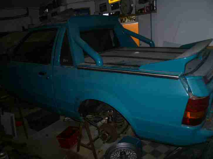 Pick Up, Ford Escort MK 3, Oldtimer