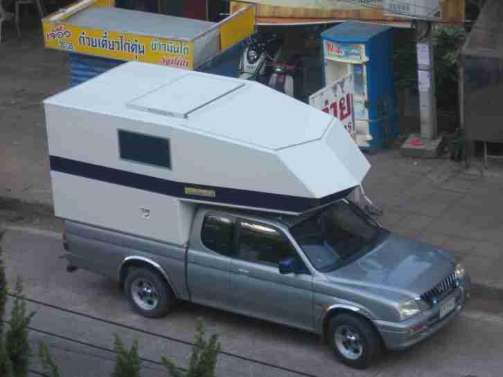 Pickup Aufbau Wohnkabine F R Alle Pick Up Wohnwagen