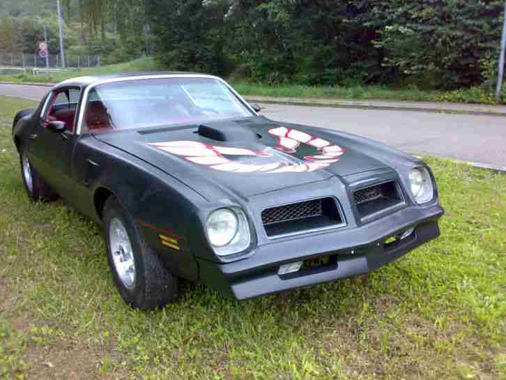 pontiac trans am 1976 gm us car big block die besten angebote amerikanischen autos. Black Bedroom Furniture Sets. Home Design Ideas