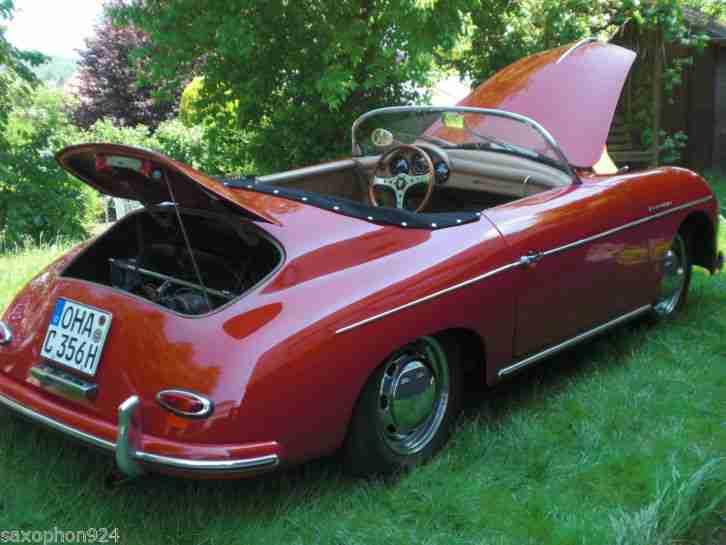 porsche 356 speedster replika porsche cars tolle angebote. Black Bedroom Furniture Sets. Home Design Ideas