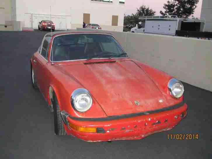 porsche 911 2 7 1974 targa g modell erste porsche cars tolle angebote. Black Bedroom Furniture Sets. Home Design Ideas