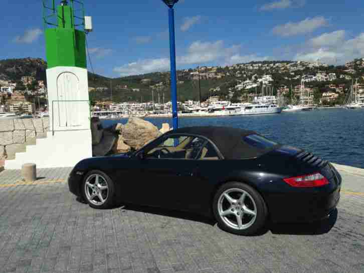 porsche 911 cabrio 997 km top zustand porsche. Black Bedroom Furniture Sets. Home Design Ideas