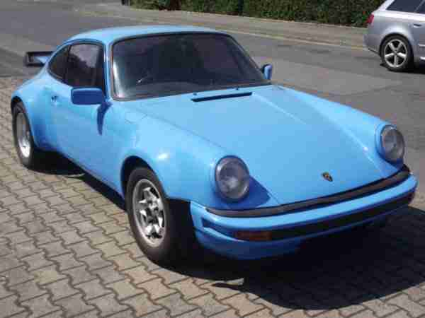 911 F Modell 2, 0 T Coupe Orig. GELB