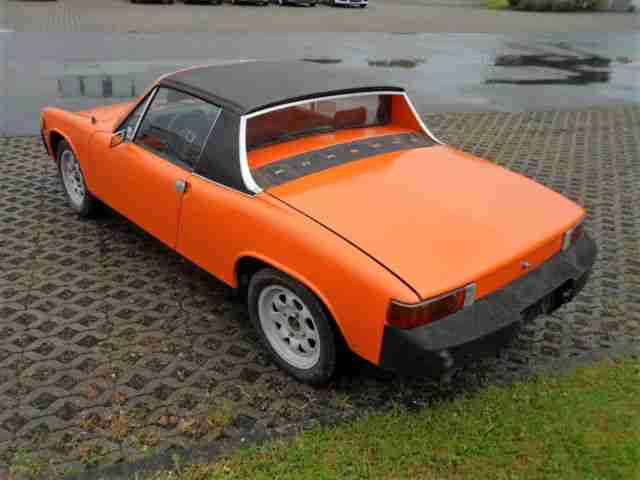 porsche 914 4 2 0l cabrio us import oldtimer porsche. Black Bedroom Furniture Sets. Home Design Ideas