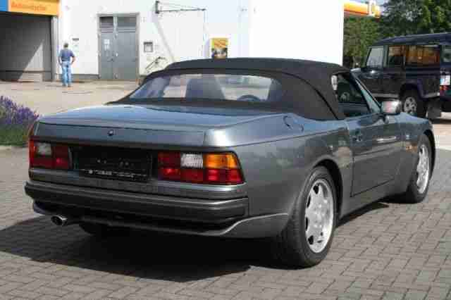 porsche 944 s2 cabrio 16v scheckheft porsche cars tolle angebote. Black Bedroom Furniture Sets. Home Design Ideas