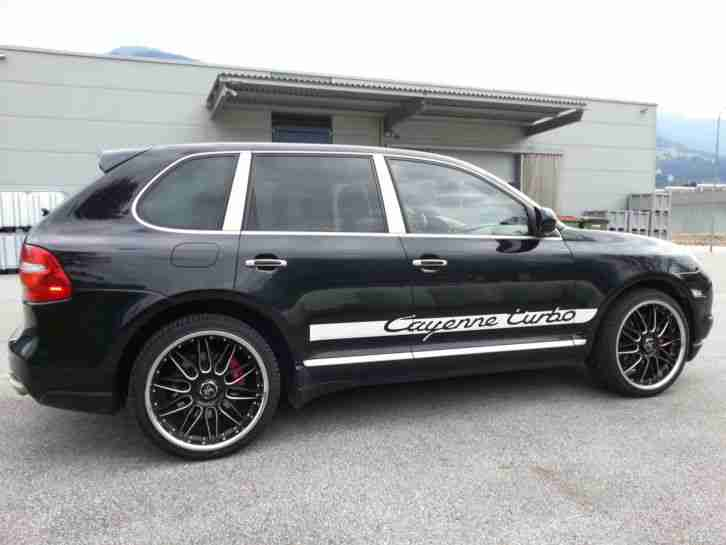 Porsche Cayenne Turbo Facelift 500PS absolute Vollausstattung
