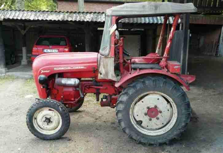 porsche diesel junior traktor nutzfahrzeuge angebote. Black Bedroom Furniture Sets. Home Design Ideas
