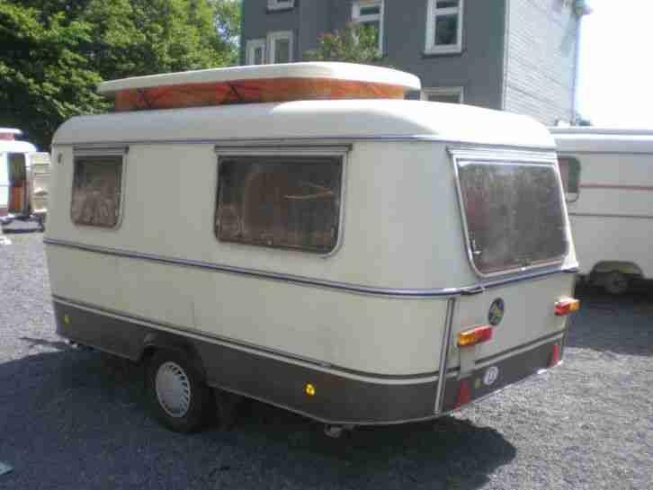 reisefertig hymer eriba triton 1982 wohnwagen wohnwagen. Black Bedroom Furniture Sets. Home Design Ideas