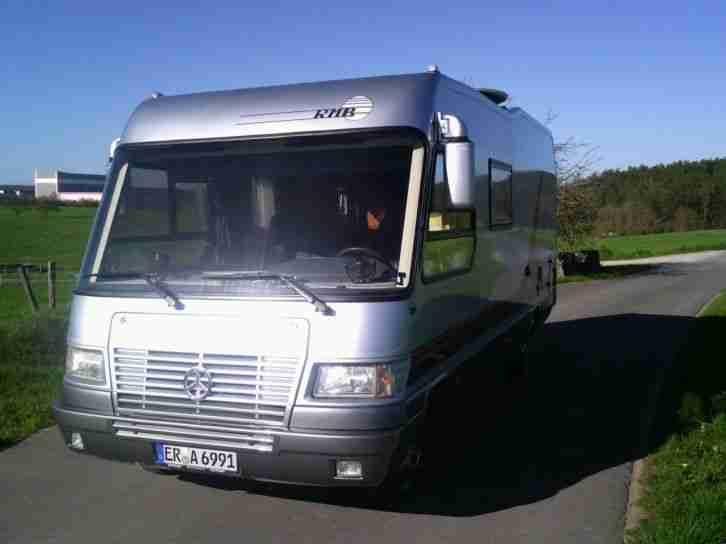 RMB 670HS Wohnmobil ez.011998 TUEV 0317 - Wohnwagen