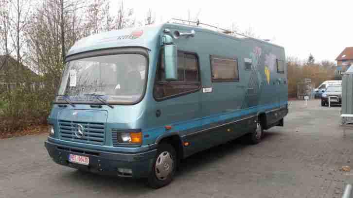 RMB 800 Silverstar auf T2 814D Vario AUTOMATIK - Wohnwagen