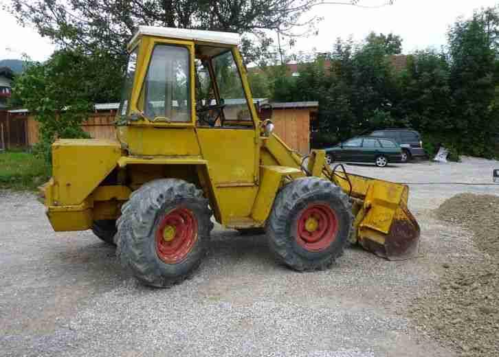 radlader kramer hoflader bagger traktor nutzfahrzeuge. Black Bedroom Furniture Sets. Home Design Ideas