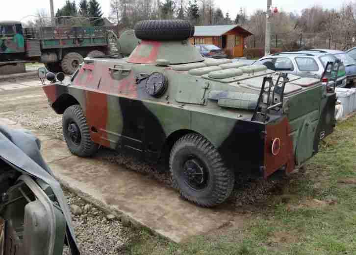 radpanzer gaz 41 08 spw40 p2 brdm 2 topseller oldtimer. Black Bedroom Furniture Sets. Home Design Ideas