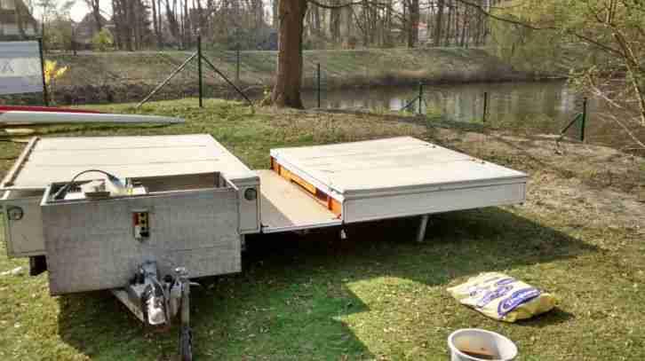 rapido comfort klappwohnwagen faltwohnwagen wohnwagen. Black Bedroom Furniture Sets. Home Design Ideas