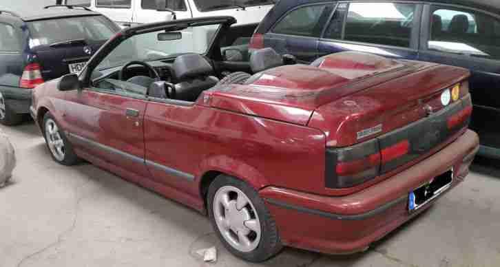renault 19 cabrio tolle angebote in renault. Black Bedroom Furniture Sets. Home Design Ideas