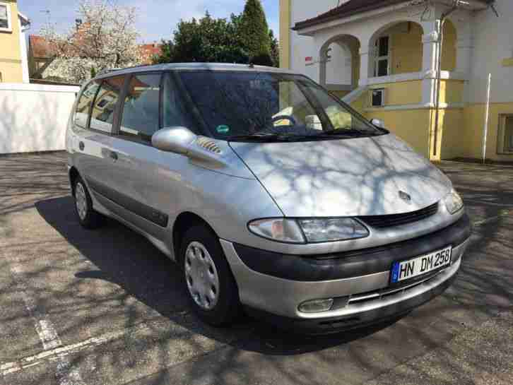 renault espace iv xenon navi panorama 2 2 dci tolle angebote in renault. Black Bedroom Furniture Sets. Home Design Ideas