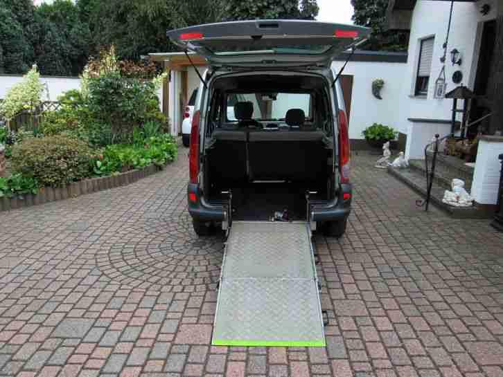 renault kangoo behinderten auto mit rollstuhl tolle. Black Bedroom Furniture Sets. Home Design Ideas